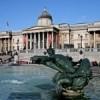 Trafalgar Square em Londres