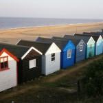 Barracas de praia da Inglaterra