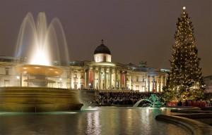 Iluminação de Natal em Trafalgar Square