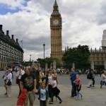 Praça do Parlamento em Londres