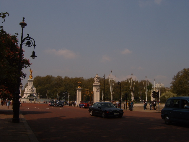 Avenida The Mall em Londres