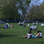 Hyde parque em Londres