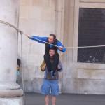 Show de rua em Covent Garden Londres