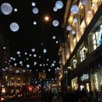 Luzes de Natal em Oxford Street 2013