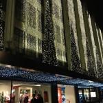 Luzes de Natal em Oxford Street 2013 - Selfridge Store