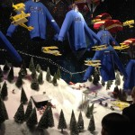 Luzes de Natal em Oxford Street 2013 - Vitrine Selfridge Store
