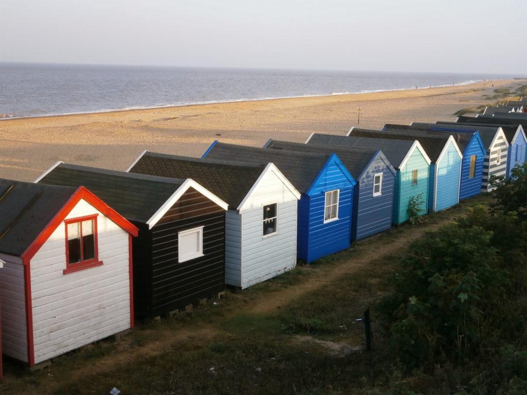 Chalé de praia na Inglaterra