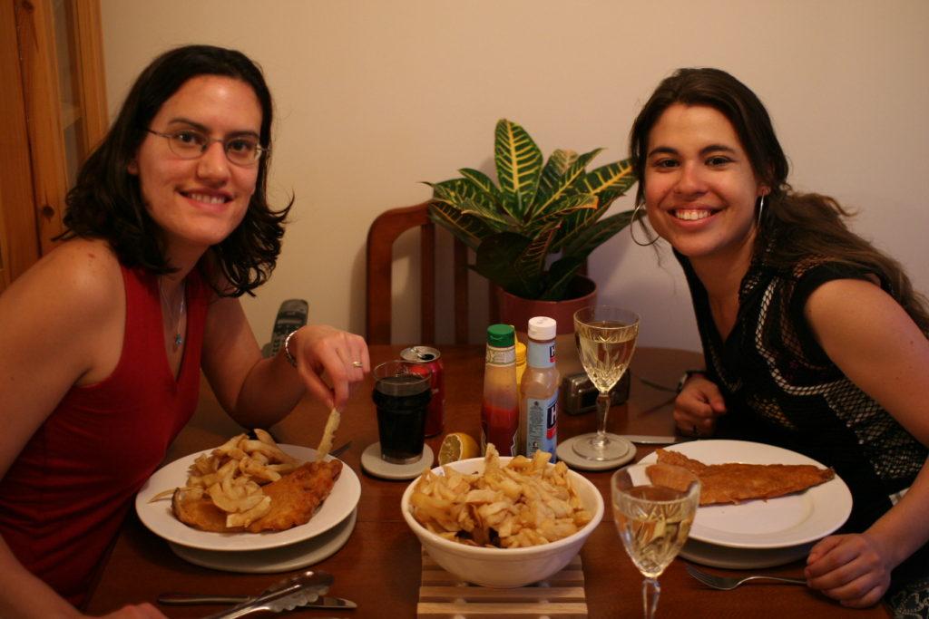 Marcia e Renata, Como é a Comida Inglesa