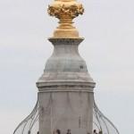 Topo do monumento ao incendio de Londres em 1666