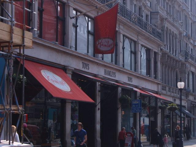 Hamleys Store em Londres