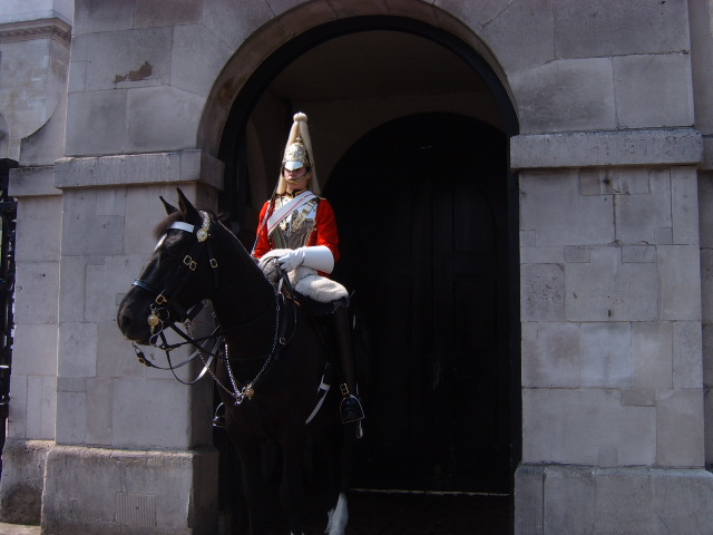 Horse guards em Londres