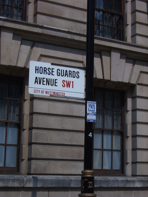 Horse guards Avenue em Londres