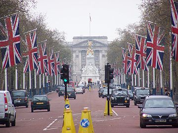 Avenida The Mall em Londres