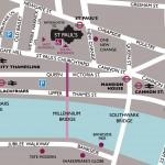 Mapa para St Paul's
