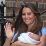 Duquesa de Cambridge e Principe George de Cambridge